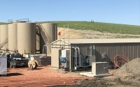 Buckhorn Salt Water Disposal Skid