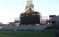 Coors Field Scoreboard Upgrades