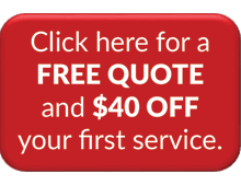 40 % off your first service
