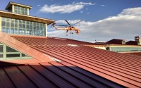 Park Meadows Mall RTU Helicopter Install